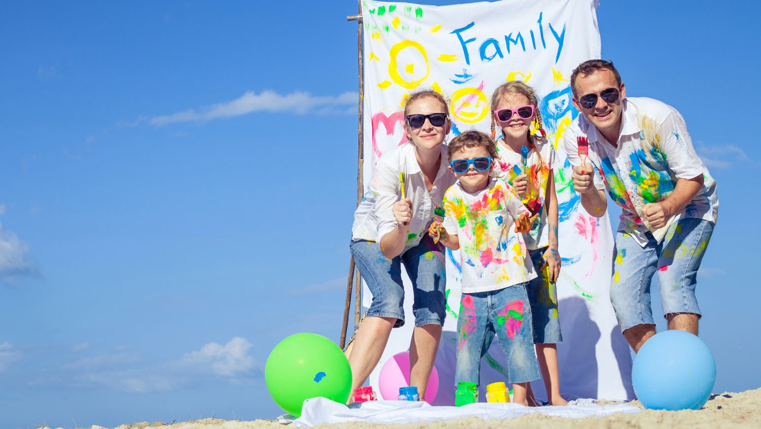 Family Painting for Yes Day